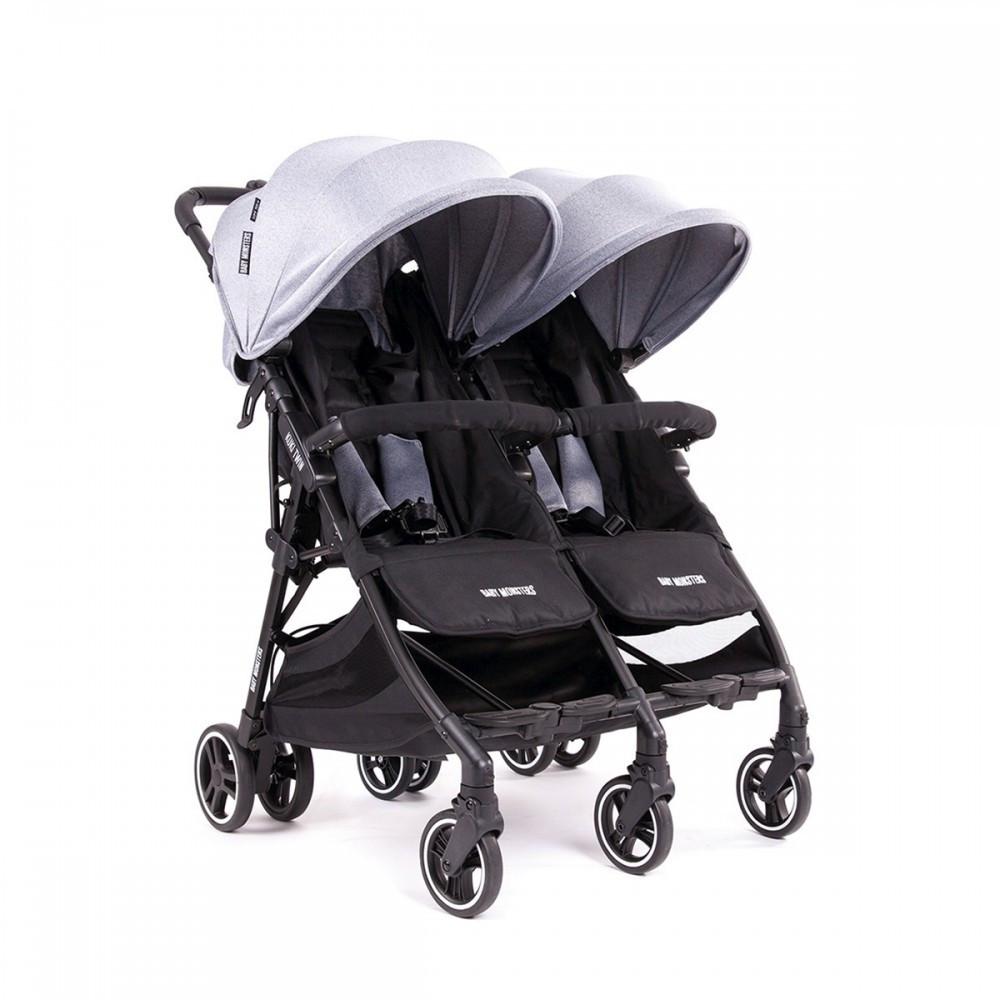 Прогулочная коляска для двойни Baby Monsters Kuki Twin