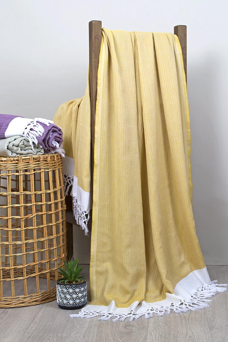 Рушник пляжний Buldans - Mercan sari 100*180