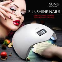 Ультрафиолетовая лампа для наращивания ногтей UV LED SUN 5 Nail Lamp, Маникюрные наборы, Манікюрні набори