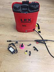 Аккумуляторный Опрыскиватель LEX AES-16 PROFi : 12 В / 15 Ач | Гарантия 1 год