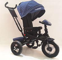 Детский велосипед turbo trike M 4060HA-11L темно-синий