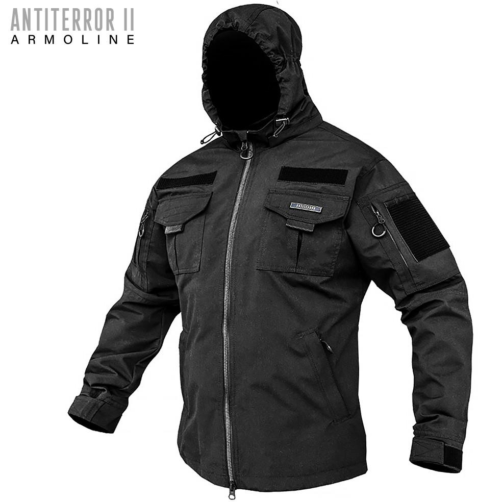 Куртка тактична (ANTITERROR II) Мембрана Black