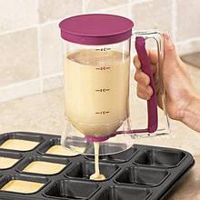 Дозатор для жидкого теста Диспенсер Batter Dispenser, уксуса, или других жидкостей, Емкость с дозатором