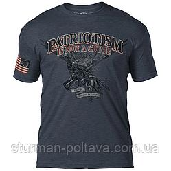 Футболка 7.62 Design Patriotism Is Not A Crime v2