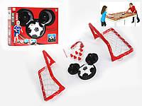 Набор для домашнего футбола: аэромяч с воротами и клюшками