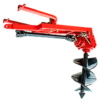 Шнековий Бур тракторний 1W-50 (500 мм) з карданом