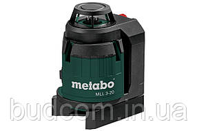 Мультилинейный лазерный уровень Metabo MLL 3-20 (606167000)
