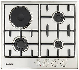Варочная поверхность комбинированная BORGIO 6630 (Inox Combi 3+1)