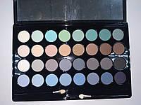 Набор матовых теней для век 32 цвета Lorina