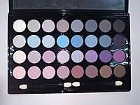 Набор матовых теней для век 32 цвета Lorina 02