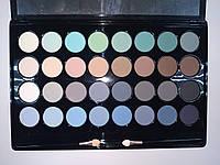 Набор матовых теней для век 32 цвета Lorina 04