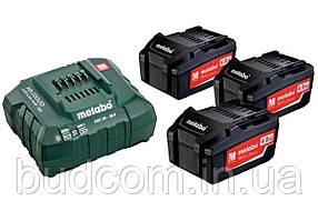 Комплект аккумуляторных батарей Metabo 3*4.0 Ач 18 В (685049000)