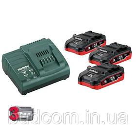 Комплект аккумуляторных батарей Metabo 3*3.1 Ач 18 В LiHD (685076000)