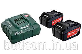 Базовый комплект аккумуляторных батарей Metabo 18 В/4.0 Ач (685050000)