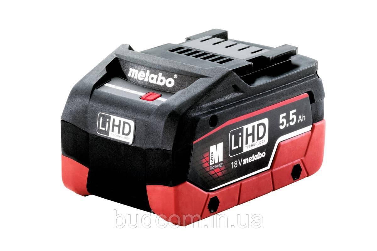 Аккумулятор Metabo LiHD 18 В/5.5 Ач New (625368000)