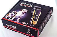 Машинка для стрижки животных Gemei 6063, Машинка для стрижки тварин Gemei 6063