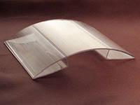 Коньковый соединительный профиль Berolux 4-6мм прозрачный