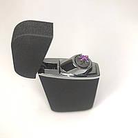Зажигалка электроимпульсная от USB UKС импульсная JL-7036 Черная, фото 1