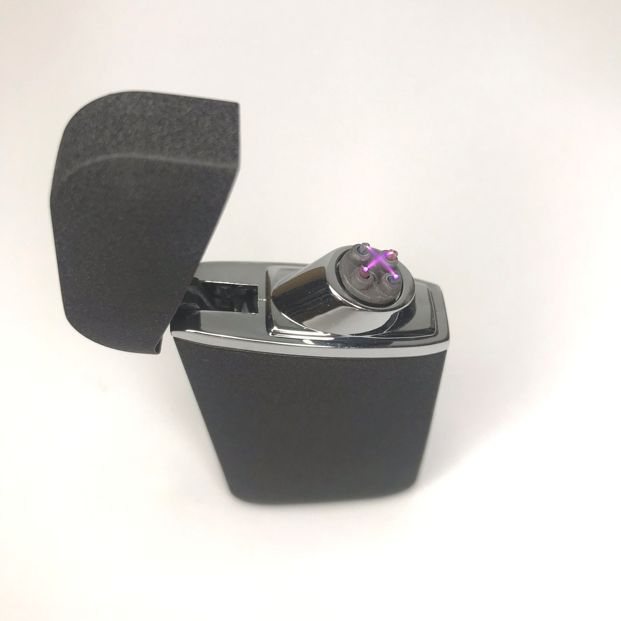 Зажигалка электроимпульсная от USB UKС импульсная JL-7036 Черная