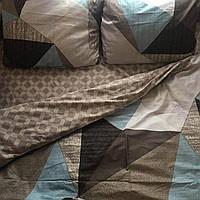 Постельное белье сатин,постельное белье геометрия  , постельное компаньон