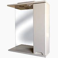 Зеркало в ванную срозеткой З-1 Бьянко (50-100 см), фото 1