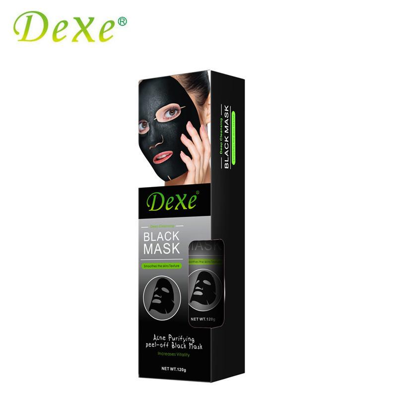 Маска для лица  Black Mask Delux, маска для лица,  черная маска для лица,  очищающая маска для лица,