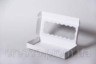 Коробка с окошком для сладостей, поделок, текстиля 240*110*30.