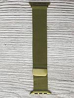 Браслет Миланская петля для Apple Watch 42/44 mm желтый