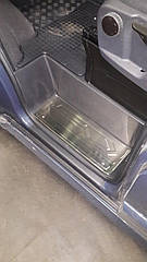 Накладки на пороги Ford Tourneo Custom (4 шт.)