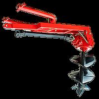 Шнековий Бур тракторний 1W-30 (300 мм) з карданом
