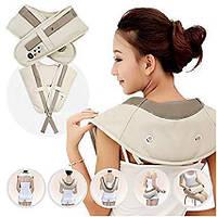 Массажер для спины, шеи и поясницы Cervical Massage Shawls, Массажеры, Масажери