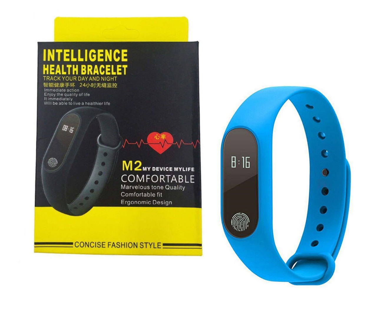 Фитнес браслет Smart Band M2 Синий