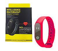 Фитнес браслет Smart Band M2 Красный, фото 1
