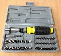 Набор инструментов с битами 41 предмет In-1051, Набір інструментів з бітами 41 предмет In-1051