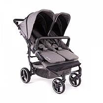 Прогулочная коляска для двойни Baby Monsters Easy Twin SE, фото 3