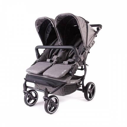 Прогулочная коляска для двойни Baby Monsters Easy Twin SE, фото 2
