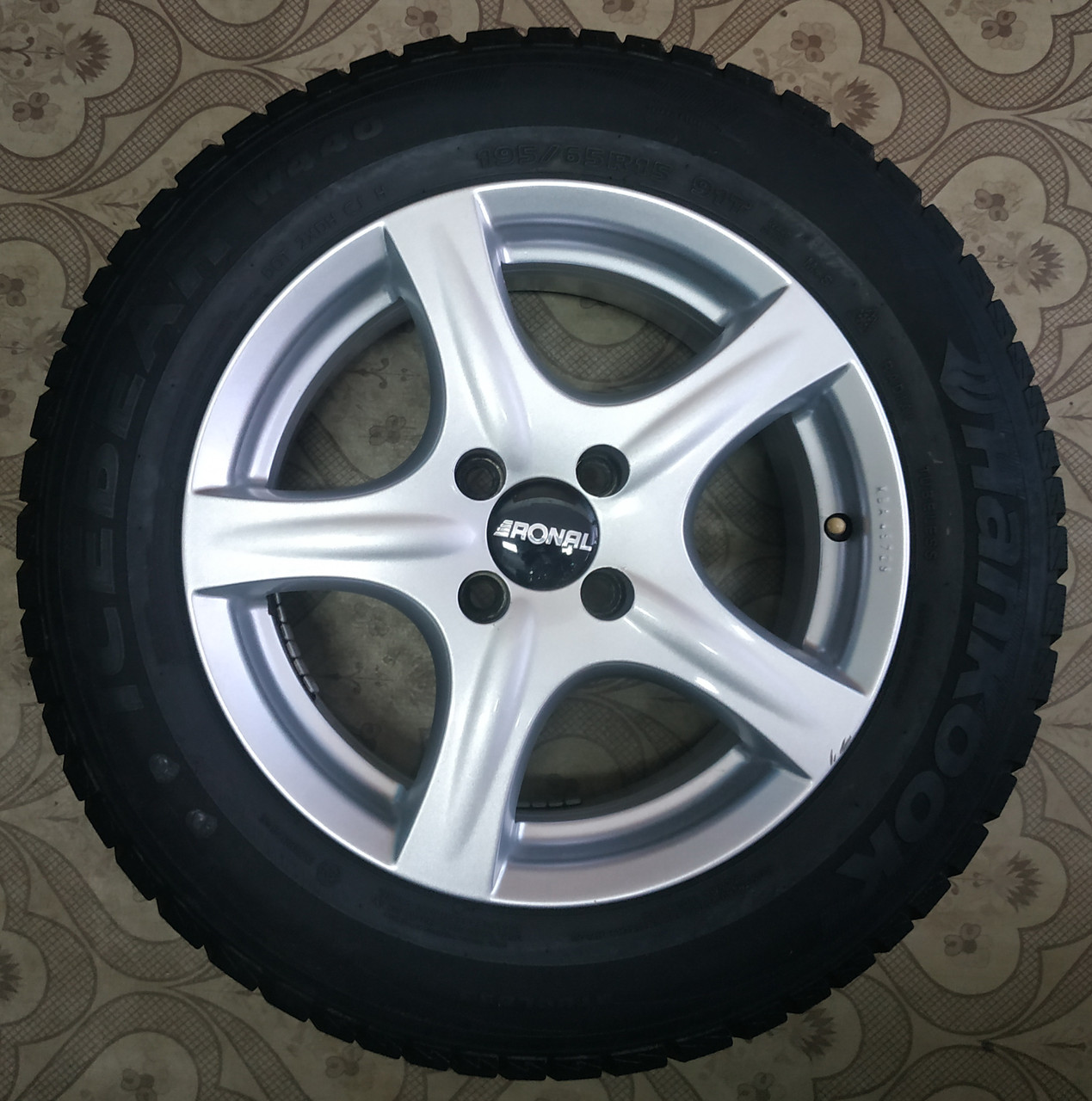 195/65/R15 Ronal Комплект литые диски + шины 4шт. Зима