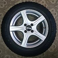 195/65/R15 Ronal Комплект литые диски + шины 4шт. Зима, фото 1