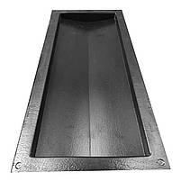 "Форма для парапета на забор ""Гладкий"" 180*500*35 мм, для коньков на забор, фото 3"