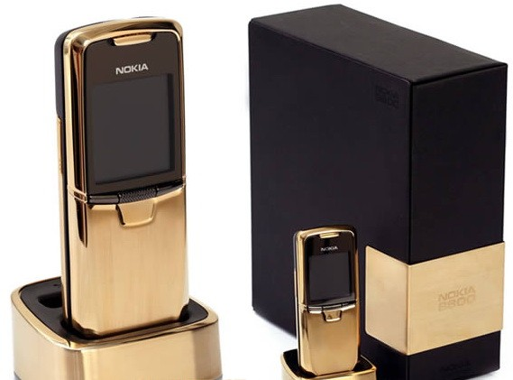 Оригинал Nokia 8800 Classic Gold