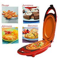 Инновационная электросковорода Red Copper 5 minuts chef электрическая скороварка для вторых блюд, Сковородки, Сковорідки