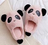 Тапочки мягкие Панды, фото 5
