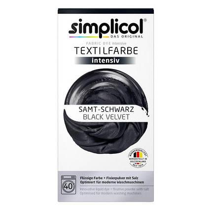 Краска Simplicol для смены цвета 150мл+400г закрепитель черная, фото 2