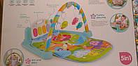 Развивающий музыкальный коврик пианино для младенца 9921
