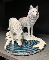 Коллекционная статуэтка Veronese Волки Зимние охотники WS-847, фото 1