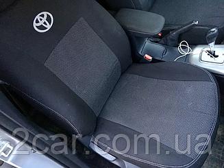Чехлы на сидения Toyota Camry (XV40) (седан) (2006-2011) в салон (Favorit)
