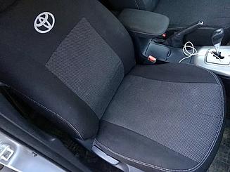 Оригинальные чехлы Toyota Auris (хетчбек) (2012>) в салон (Favorit)