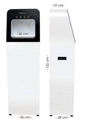 Бесконтактный дезинфектор для рук Sebastian hand sterilizer с дезинфицирующим средством