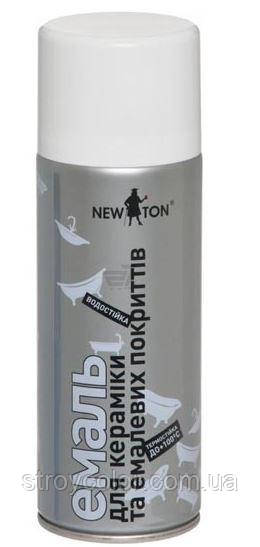 Аерозольна емаль кераміка New Ton 400 мл (Фарба-спрей ньютон newton)