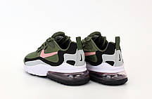 Мужские кроссовки Nike Air Max 270 React. Khaki. ТОП Реплика ААА класса., фото 2